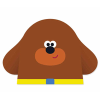 Hey Douggie logo
