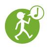 1km à Pied logo