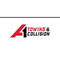 A1 towing & collision inc  logo