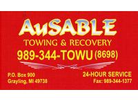 AuSable Towing logo
