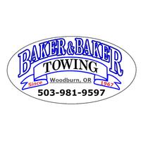 Baker & Baker Towing & Crane logo